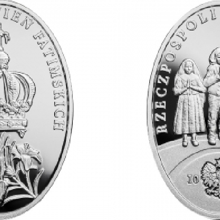 Images and prices of coins 100th Anniversary of the Apparitions of Fatima