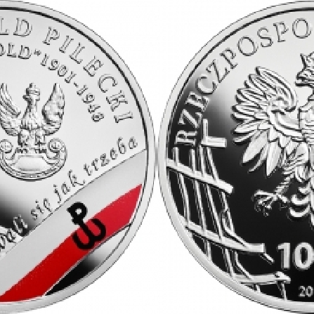 "Images and prices of coins Witold Pilecki ps. ""Witold"""