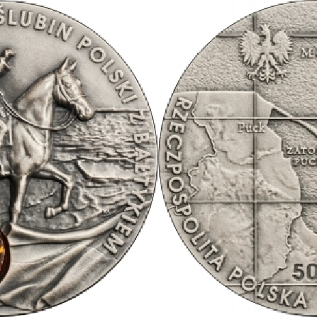 Images and prices of coins 100th Anniversary of Poland's Wedding to the Baltic Sea