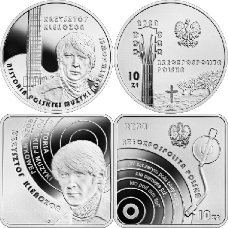 Images and prices of coins Krzysztof Klenczon
